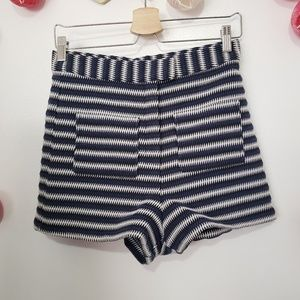 TOPSHOP high waisted  knitted shorts 6